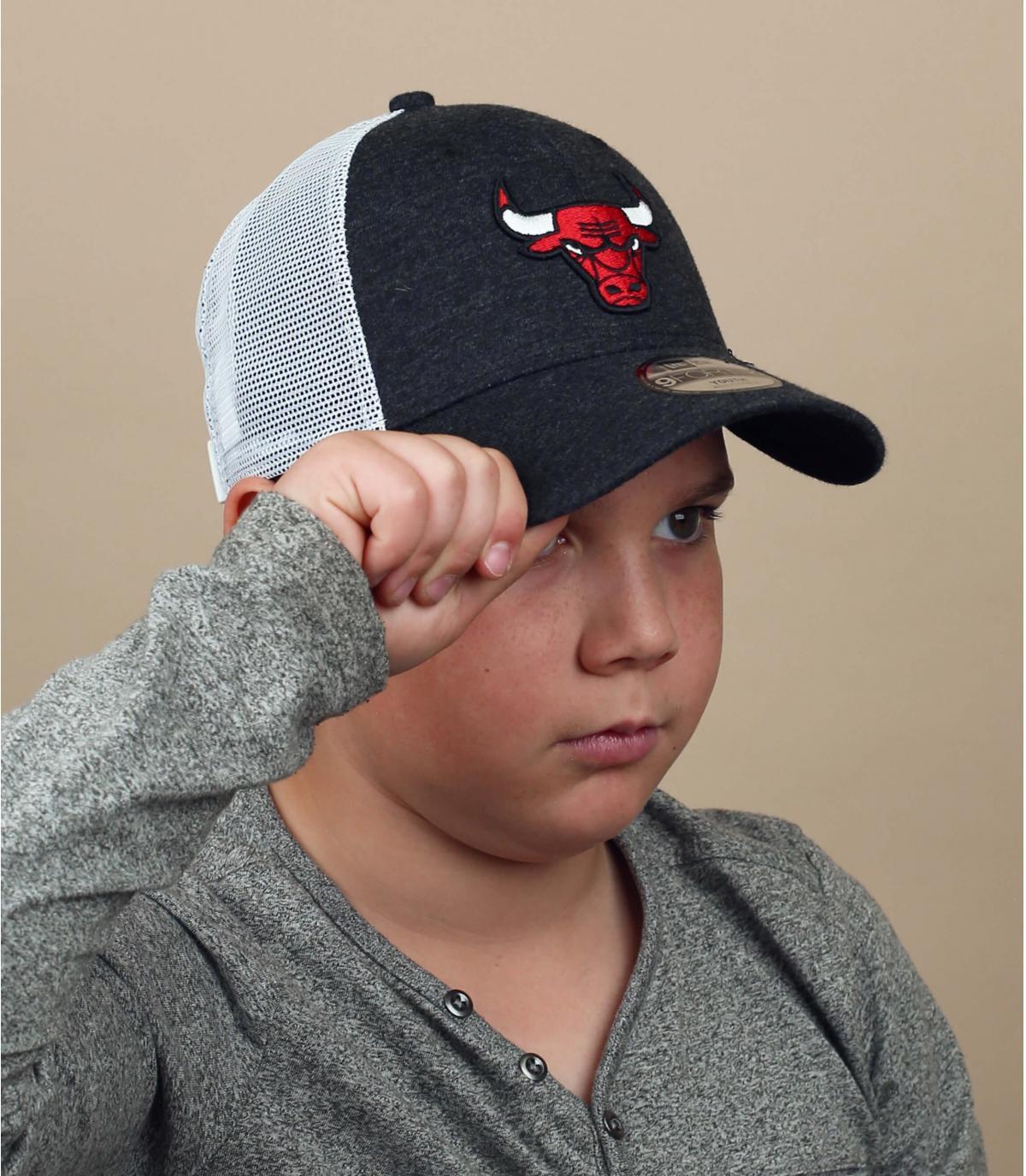 trucker enfant Bulls rouge