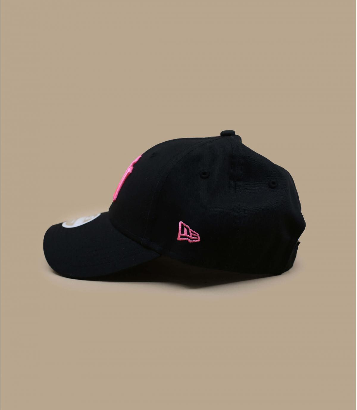 Détails Casquette Wmn League Ess NY 940 black pink - image 3
