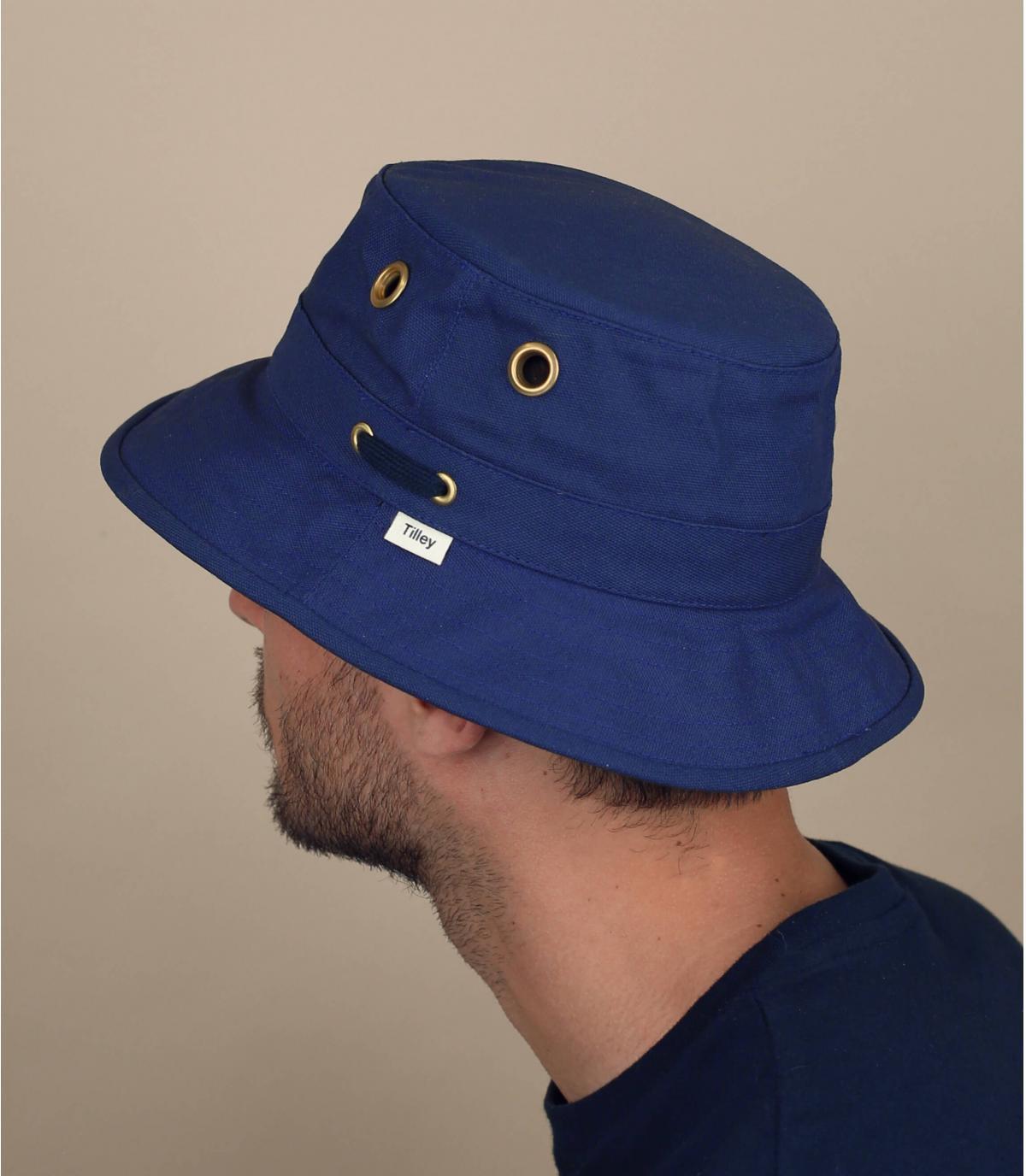 bob TilleyT1 bleu marine