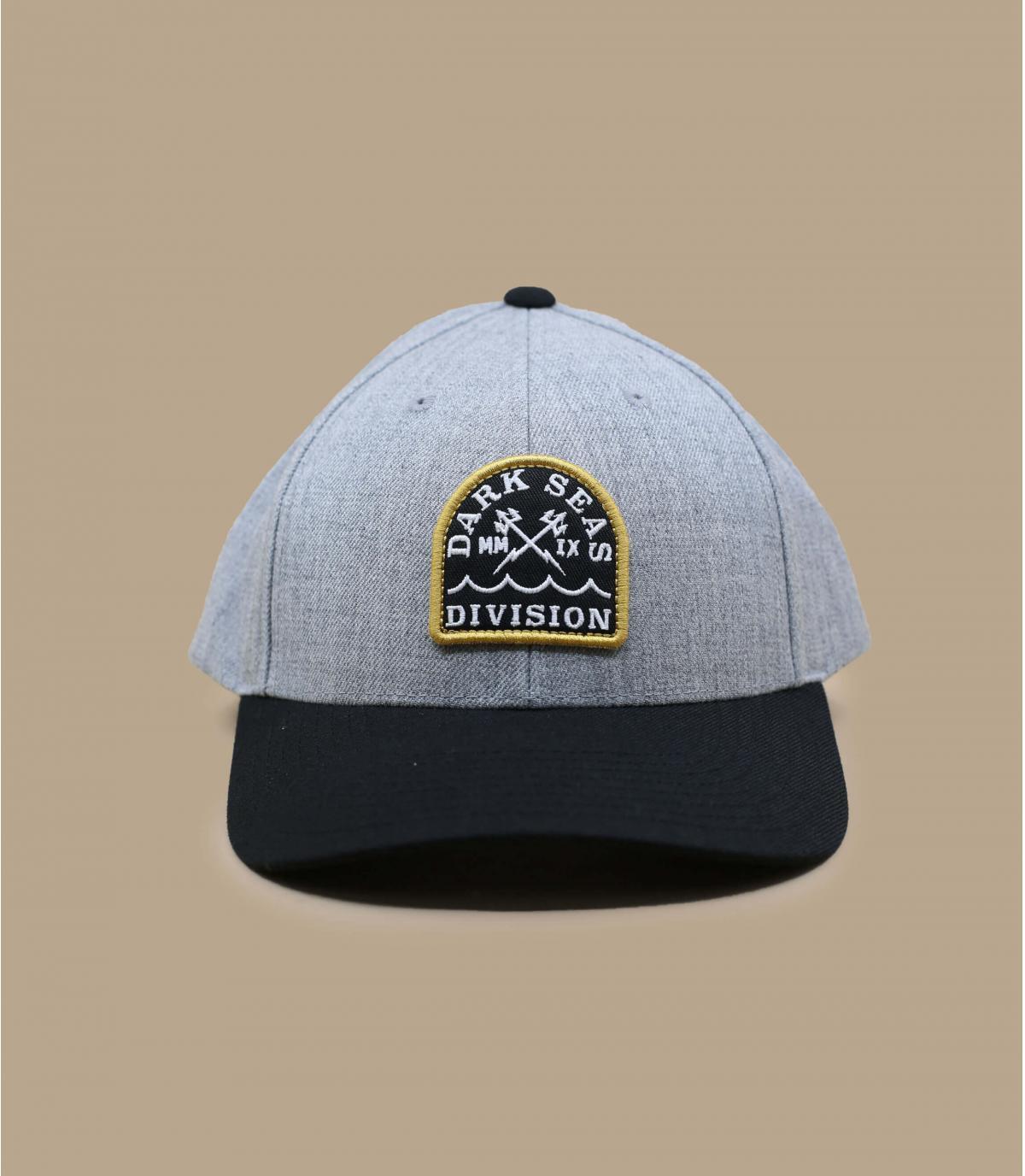 casquette grise Dark Seas
