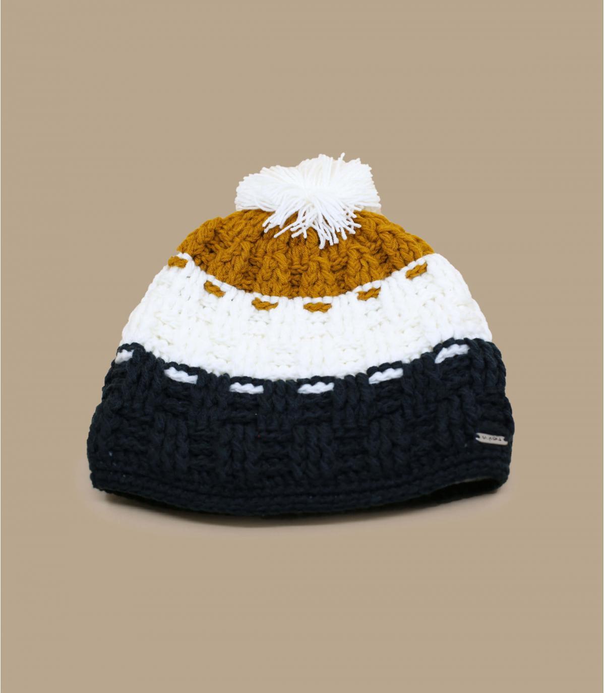 bonnet pompon homme bonnet epic curry par capcho. Black Bedroom Furniture Sets. Home Design Ideas