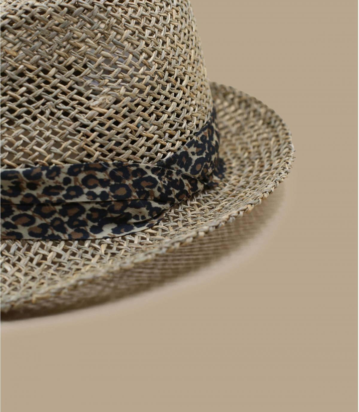 Détails Trilby Seagras sand leopard - image 3