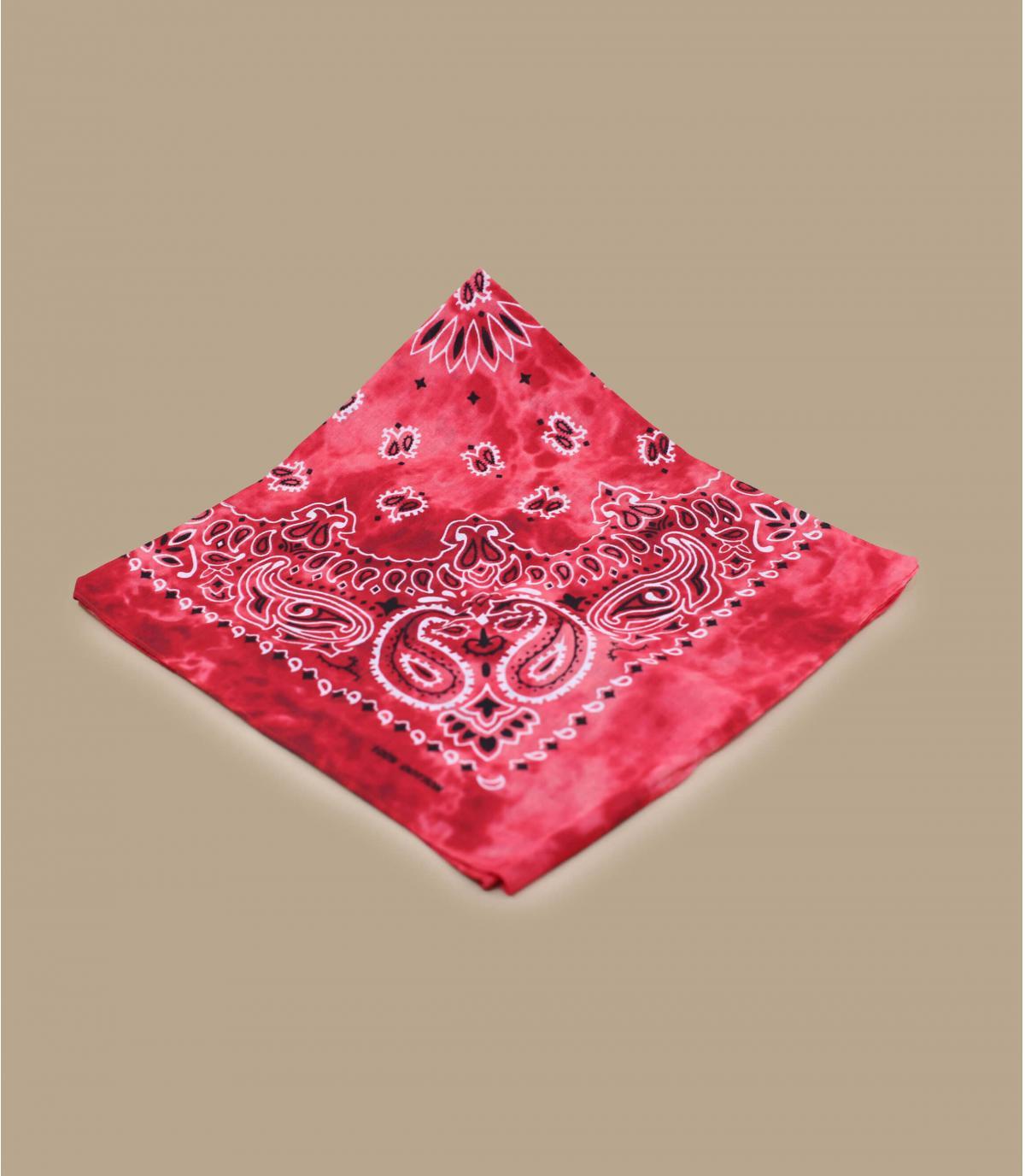 Bandana Tie Dye rouge