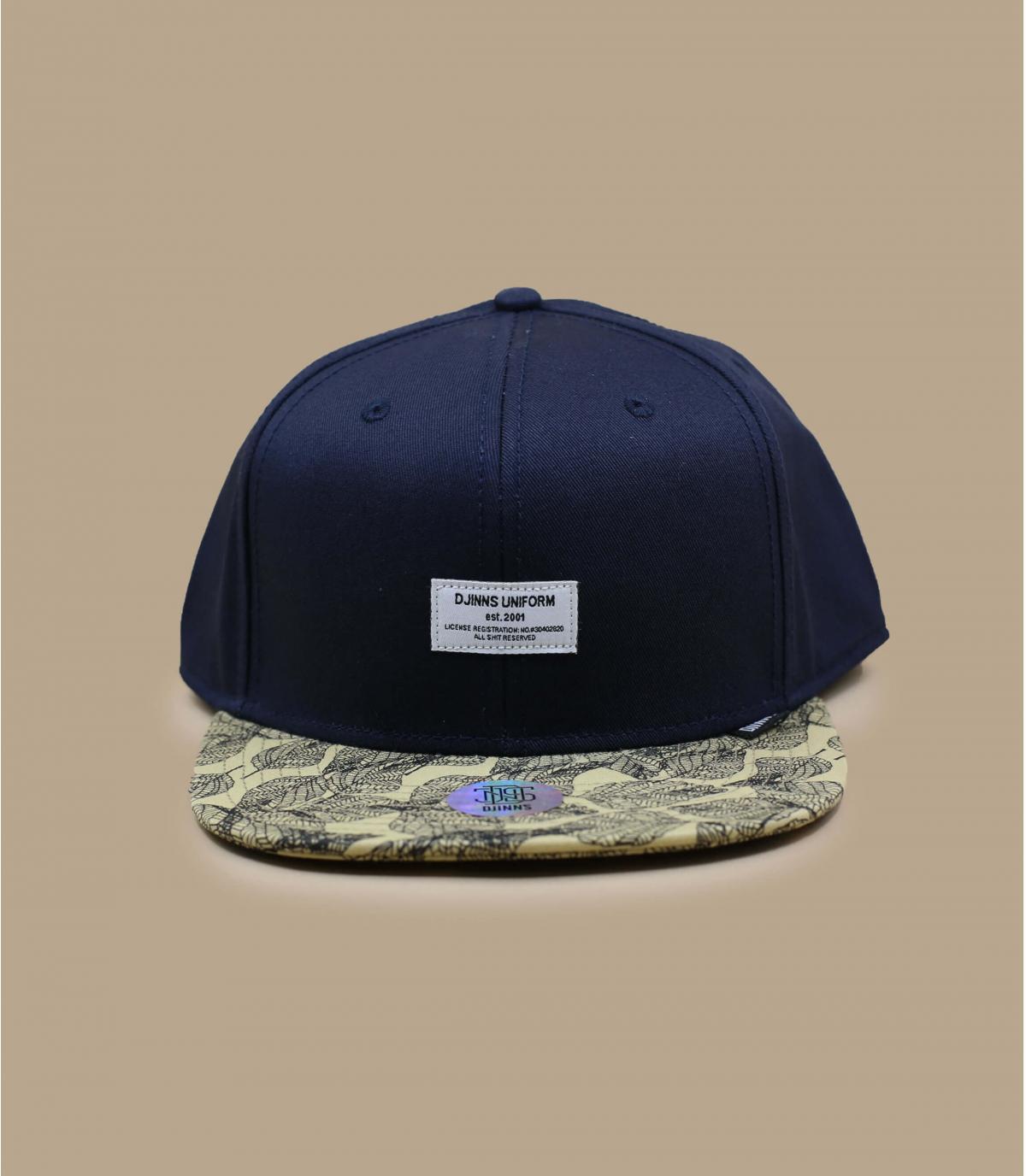 casquette noir feuilles Djinns