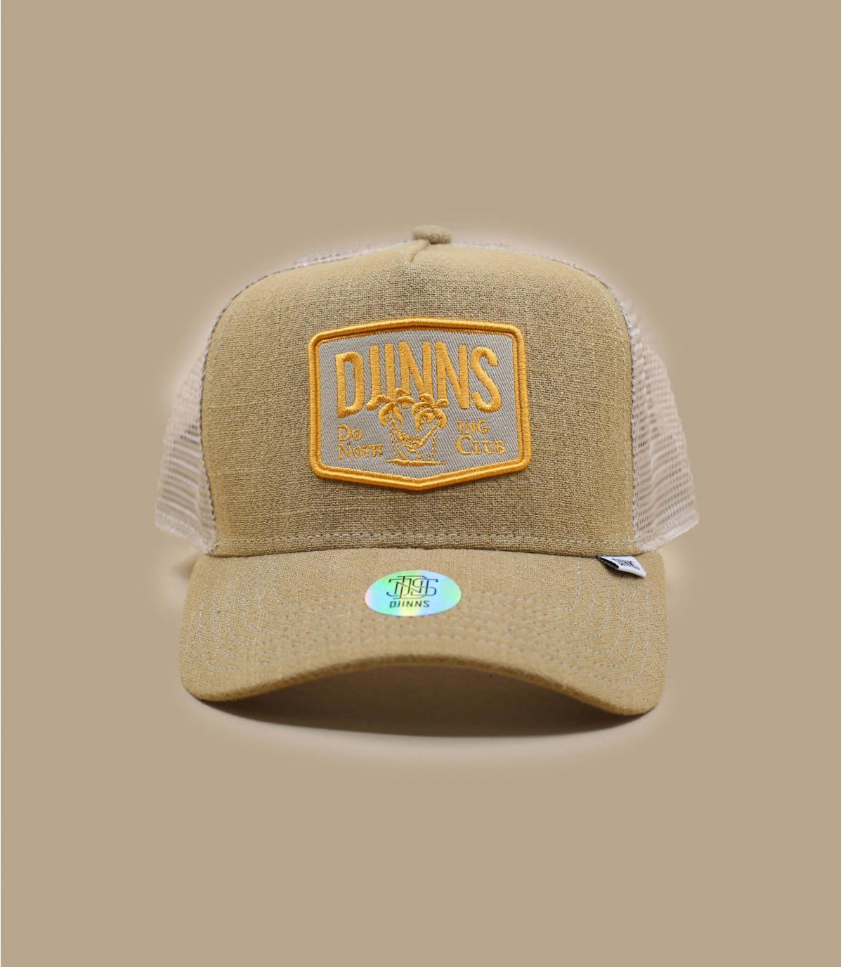casquette Djinns beige palmier