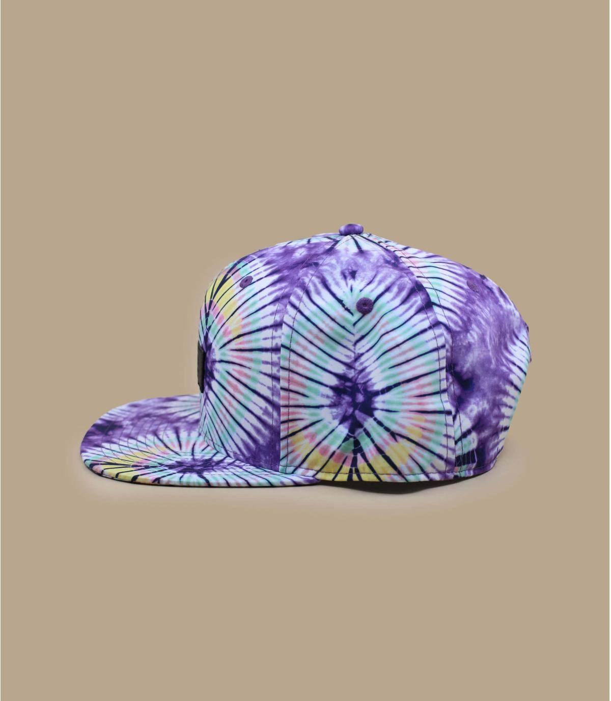 Détails Snapback Laces 54 New Age Tie Dye purple - image 3