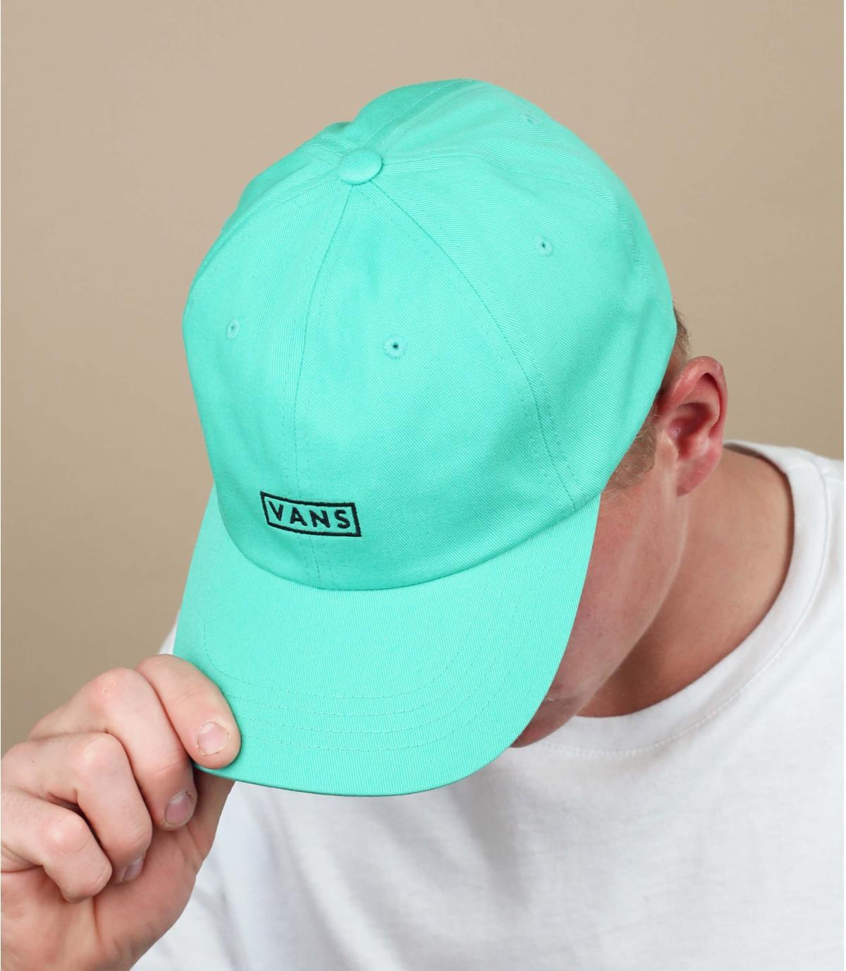 casquette Vans bleu turquoise
