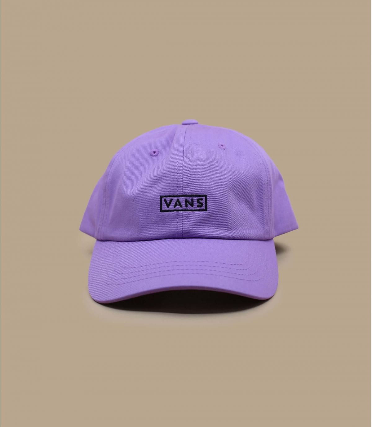 casquette Vans femme violet