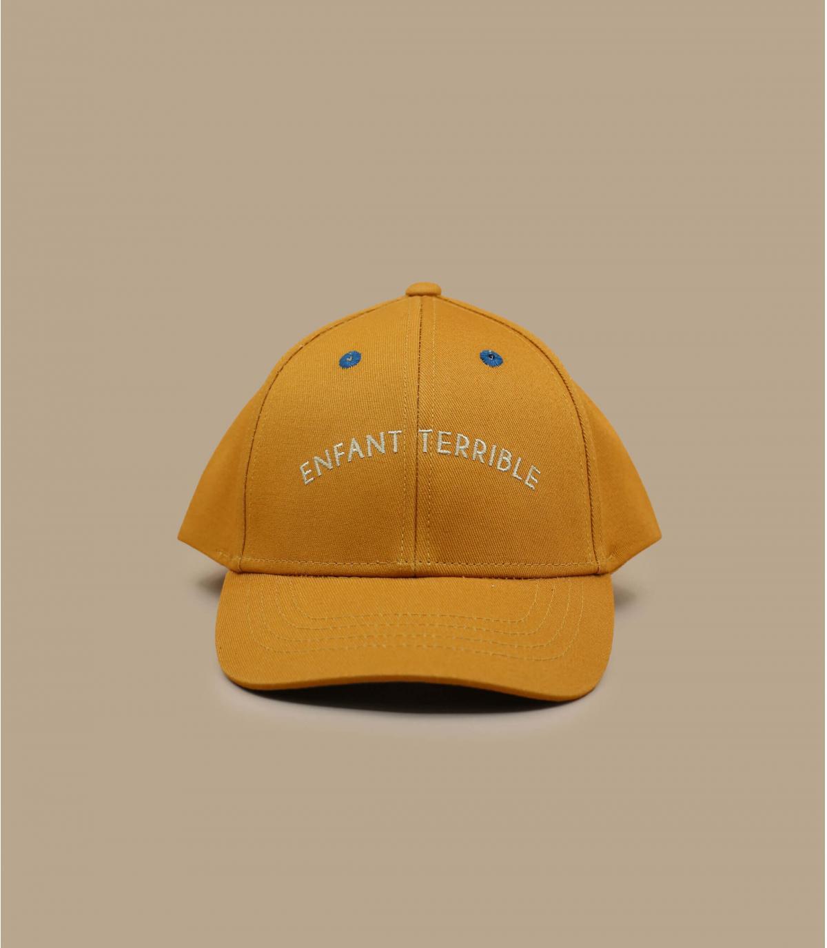 casquette Enfant Terrible jaune