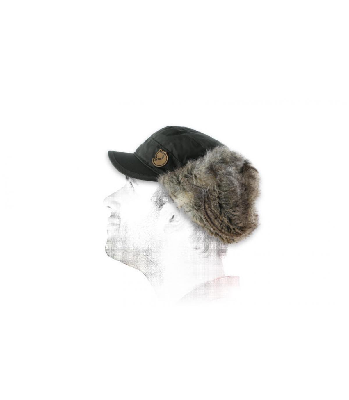 Chapka homme grise