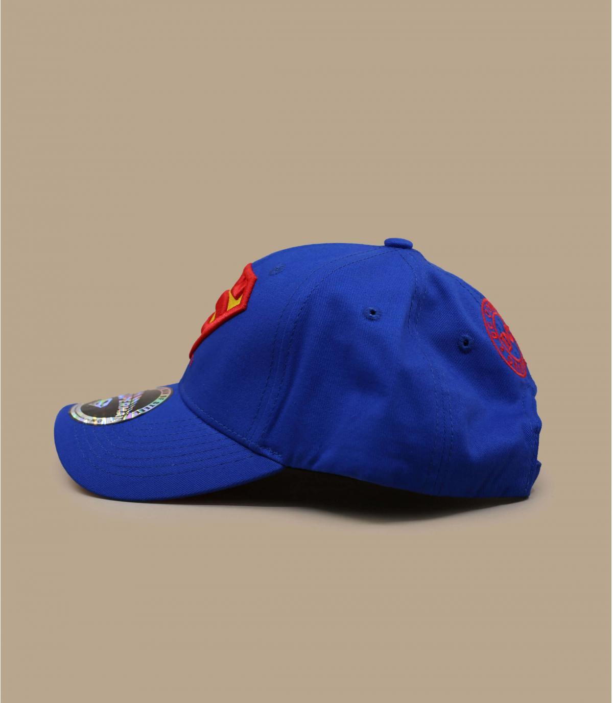 casquettes superman bleu