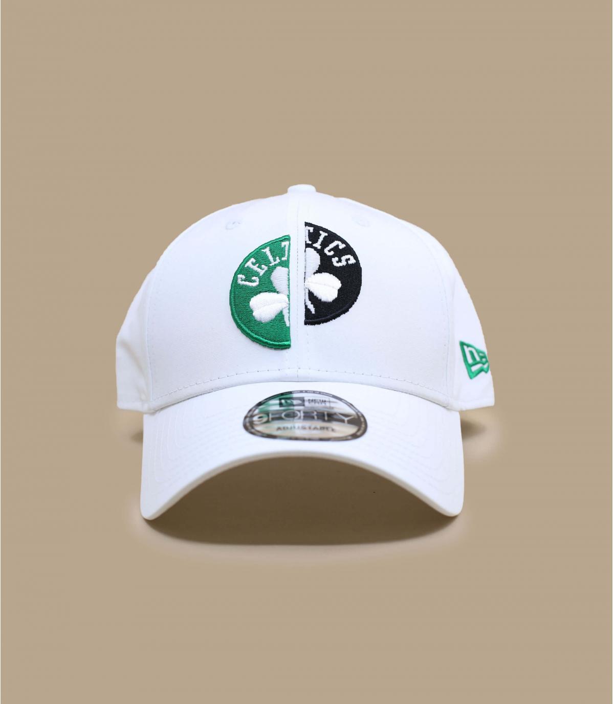 casquette Celtics blanc