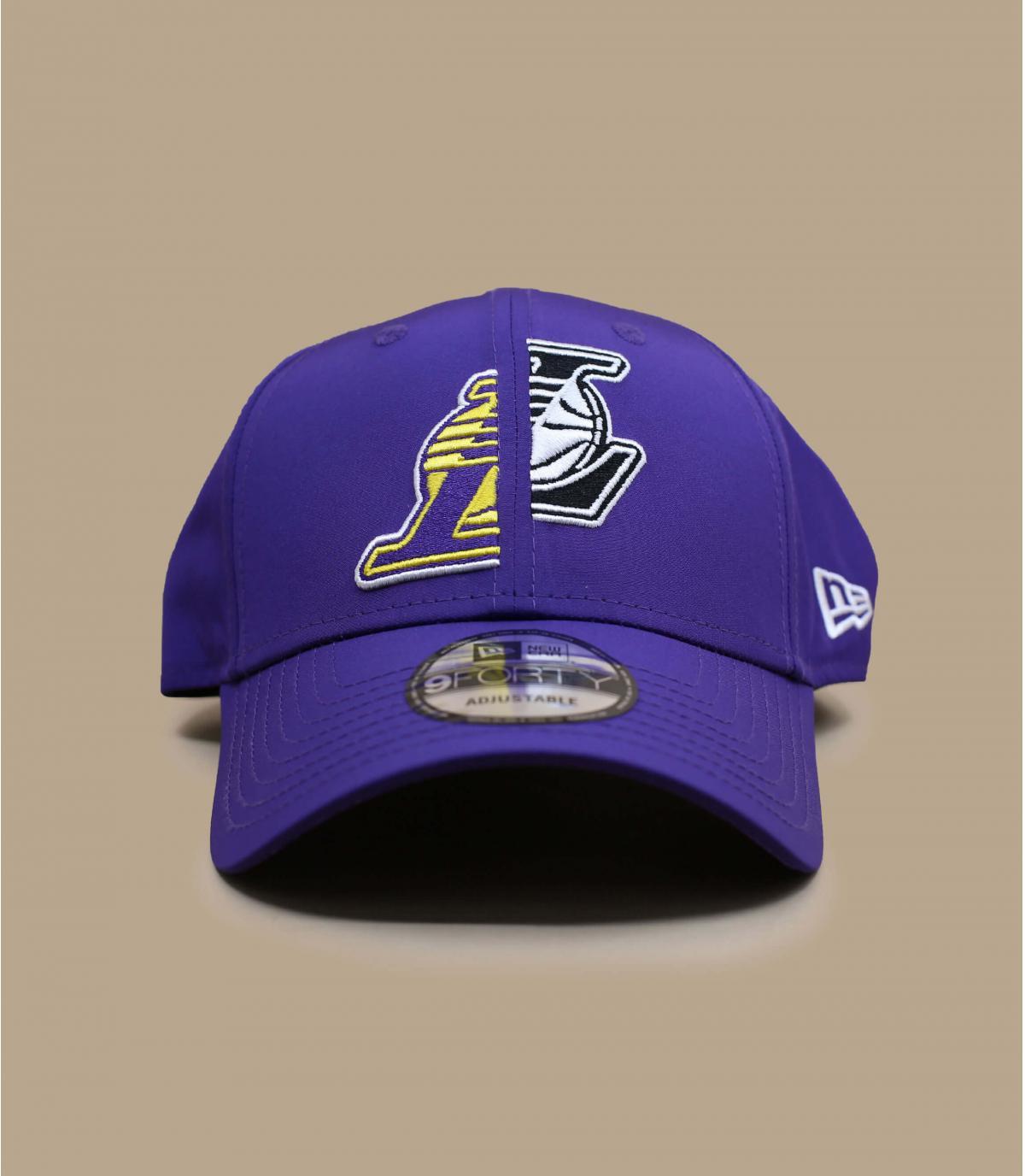 casquette Lakers violet