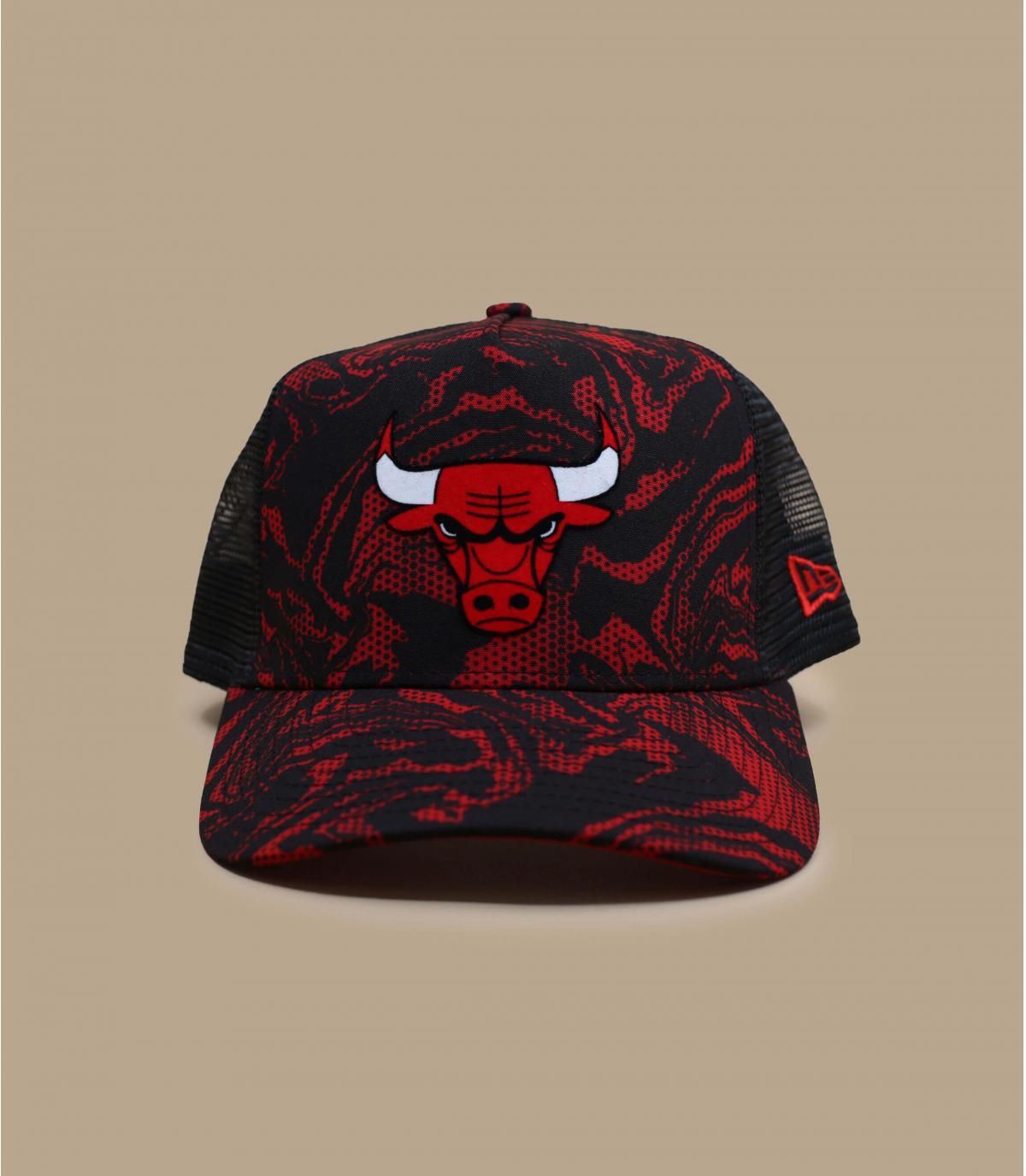 trucker camo Bulls