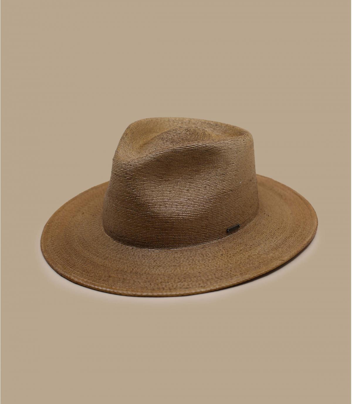 chapeau paille marron Brixton