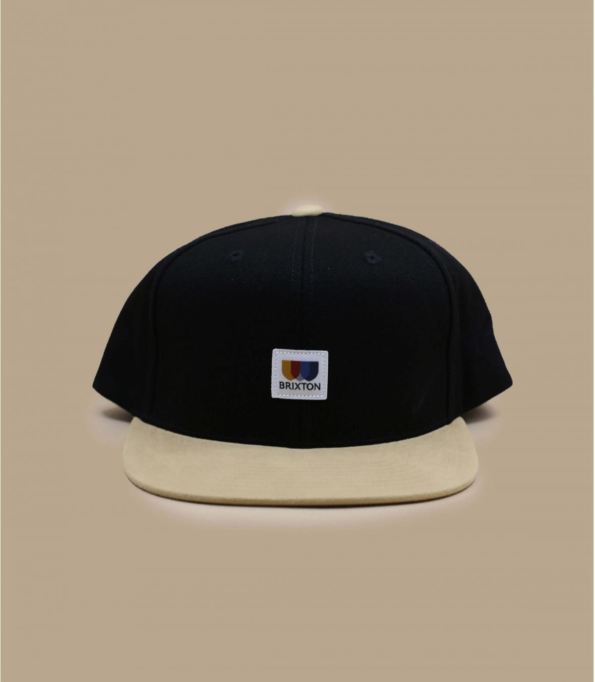 snapback noire Brixton