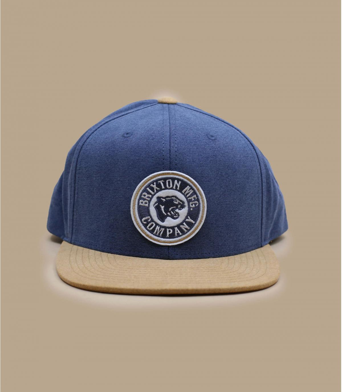 casquette Brixton bleu beige