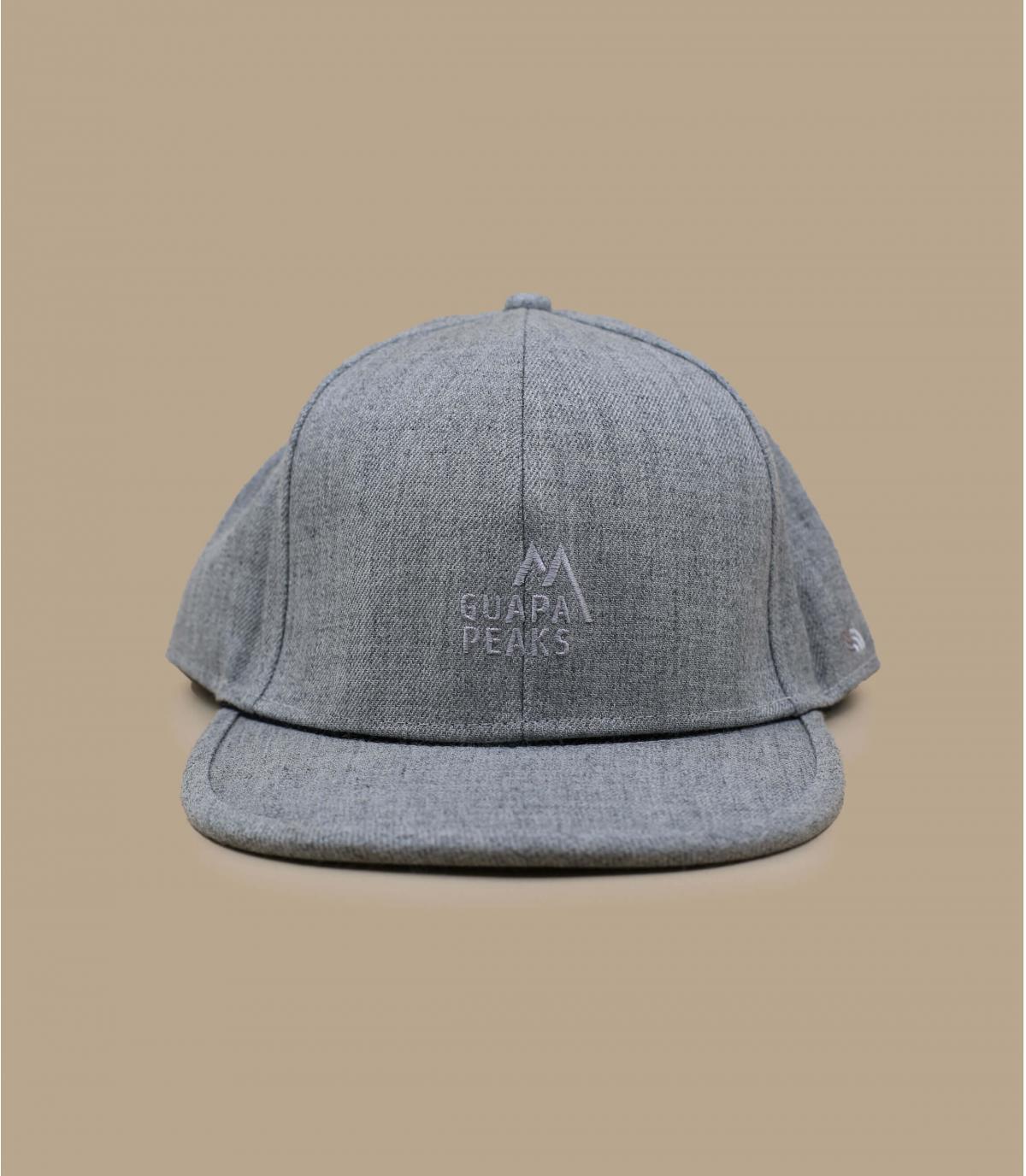 casquette Guapa Peaks gris chiné