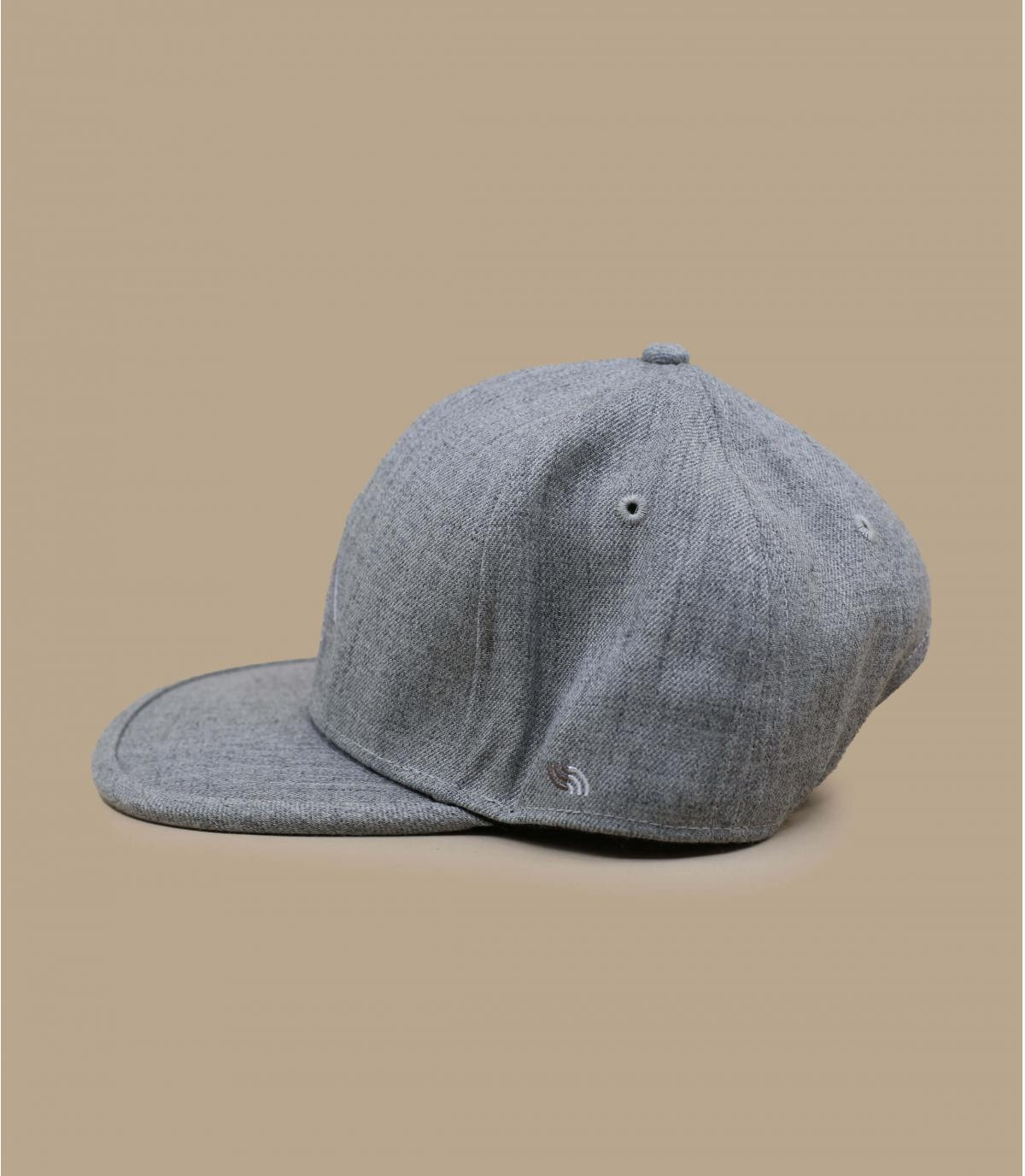 Détails Snapback Recycled heather grey - image 2