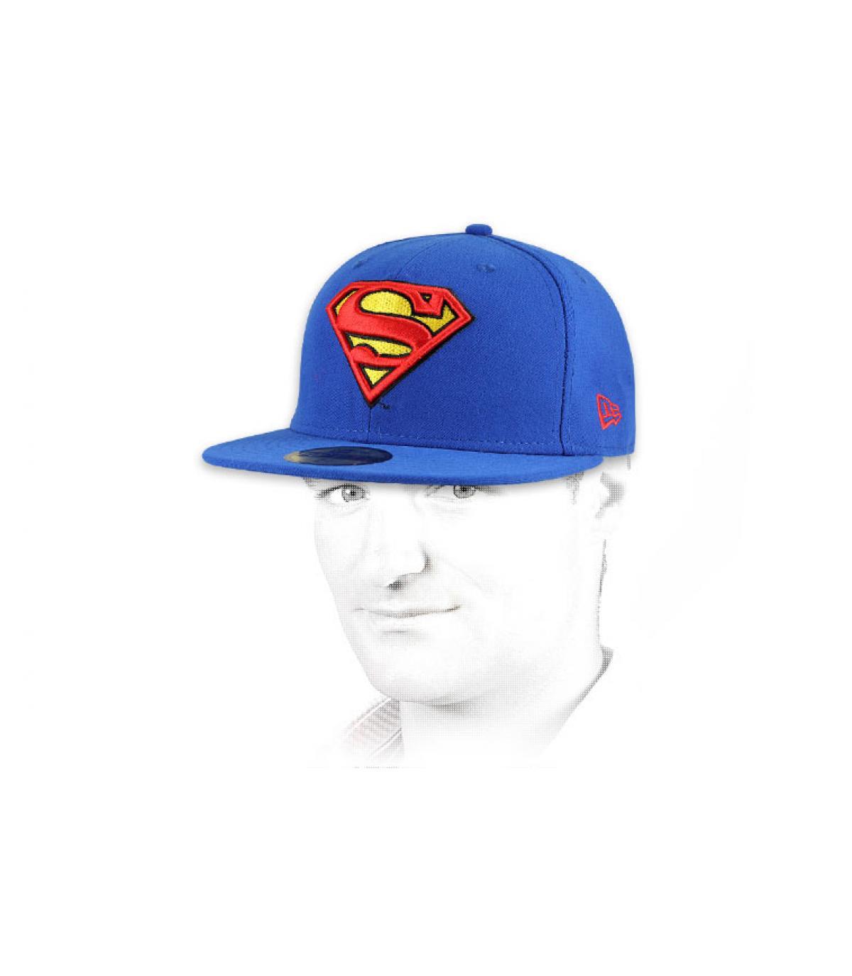 Détails Casquette Superman 59fifty - image 4