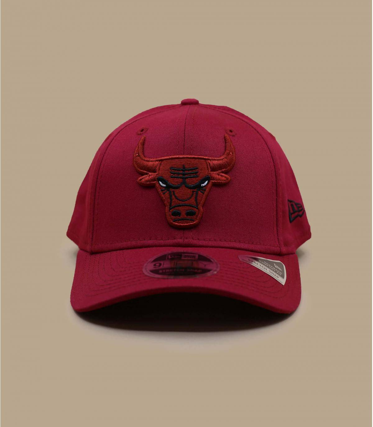 Casquette Bulls rouge