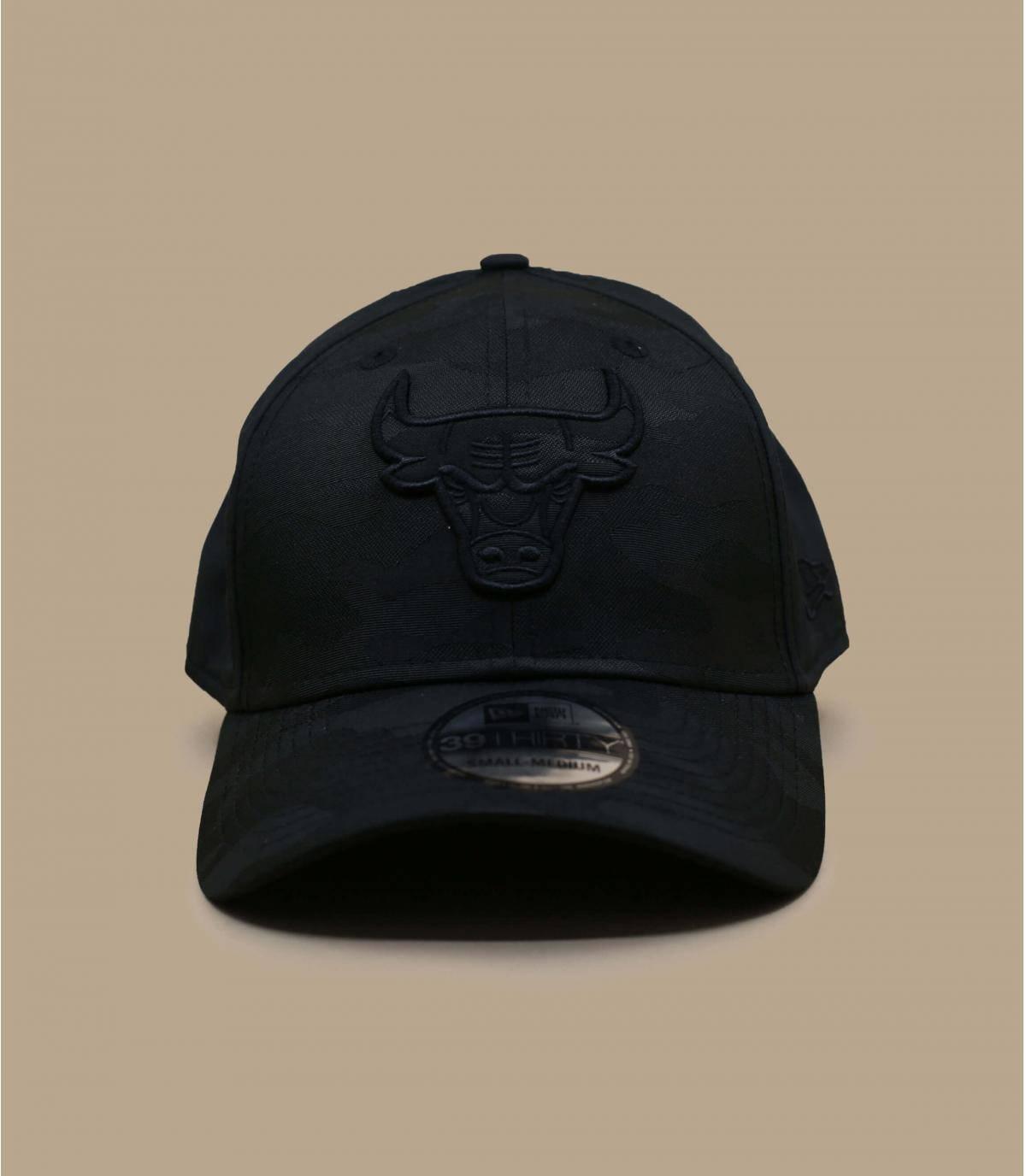 casquette Bulls noir camo