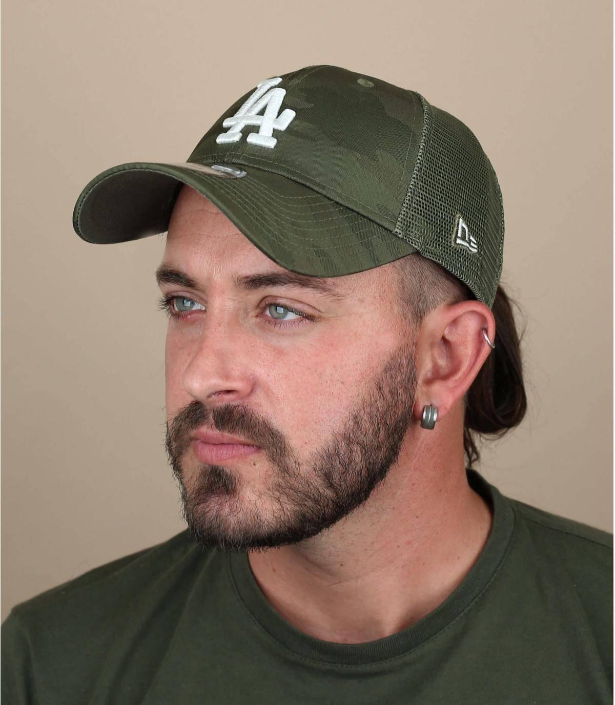 trucker LA vert camo