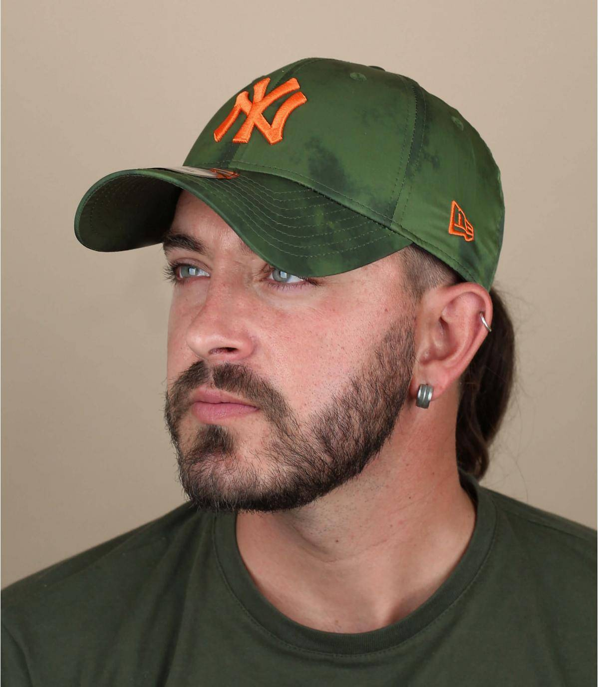 casquette NY vert