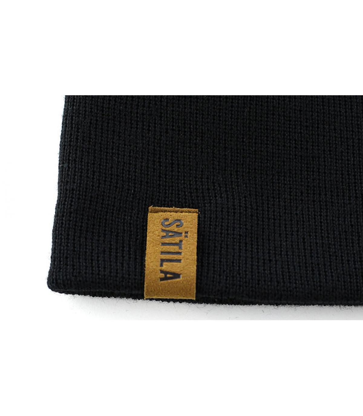 bonnet femme satila noir bonnet femme s f black par satila. Black Bedroom Furniture Sets. Home Design Ideas