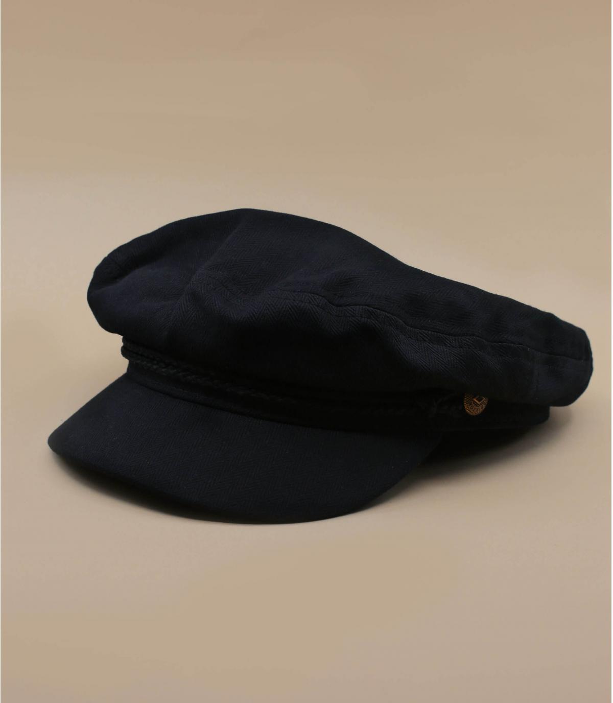 casquette marin noir