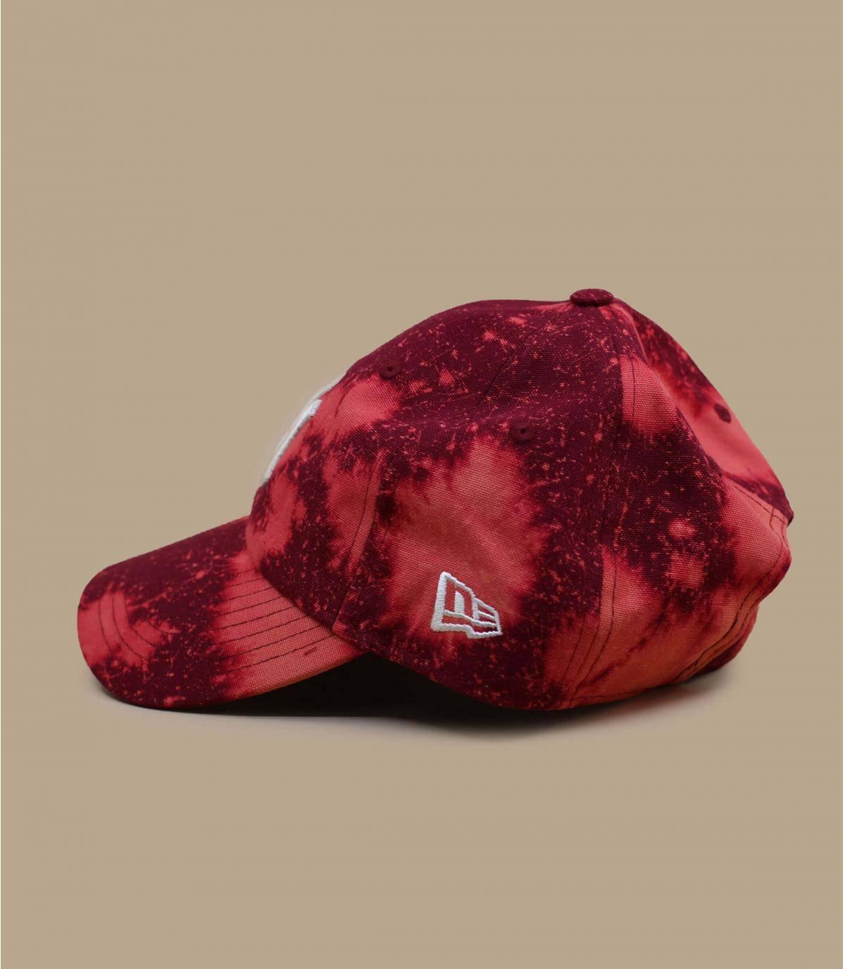 Détails Casquette Wash Canvas CSCL 920 NY hot red - image 3