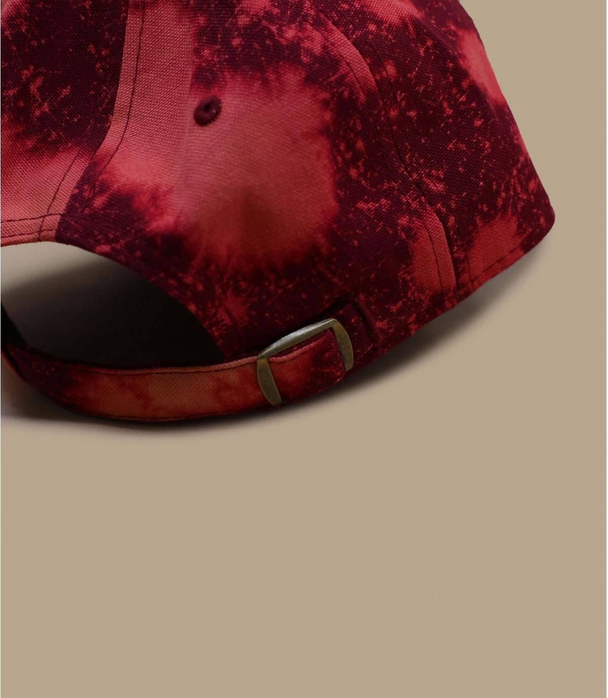 Détails Casquette Wash Canvas CSCL 920 NY hot red - image 4