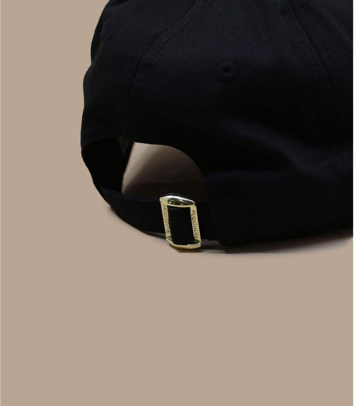 Détails Casquette Wmns Metallic 940 NY black gold - image 4