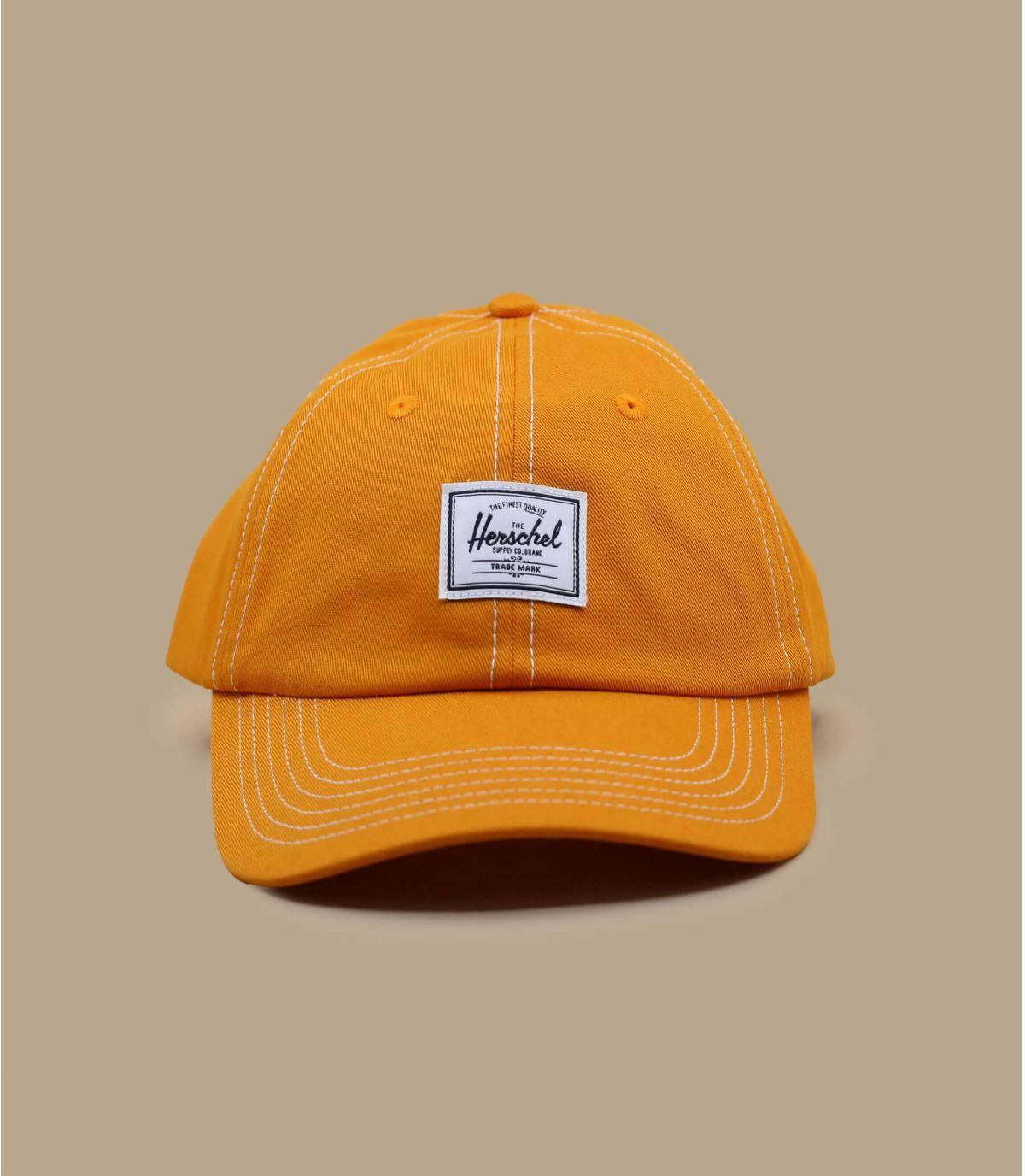 casquette Herschel jaune