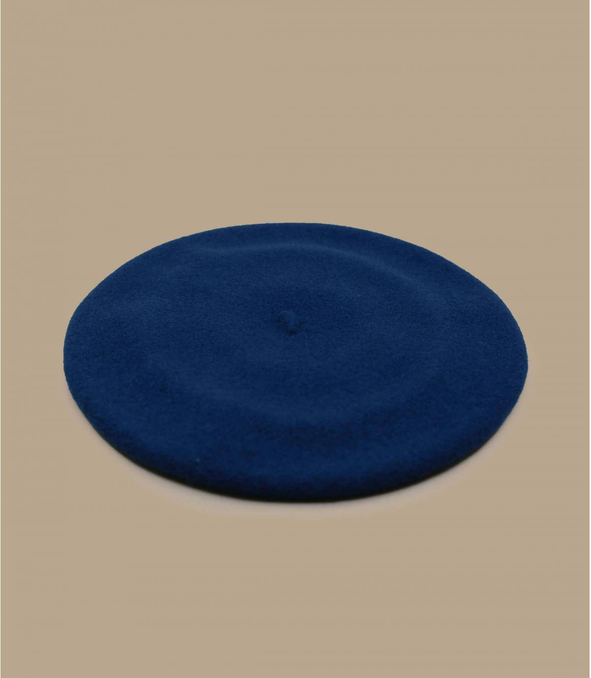 Béret Laulhère bleu