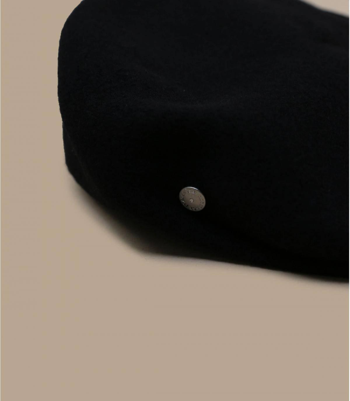 béret noir laine