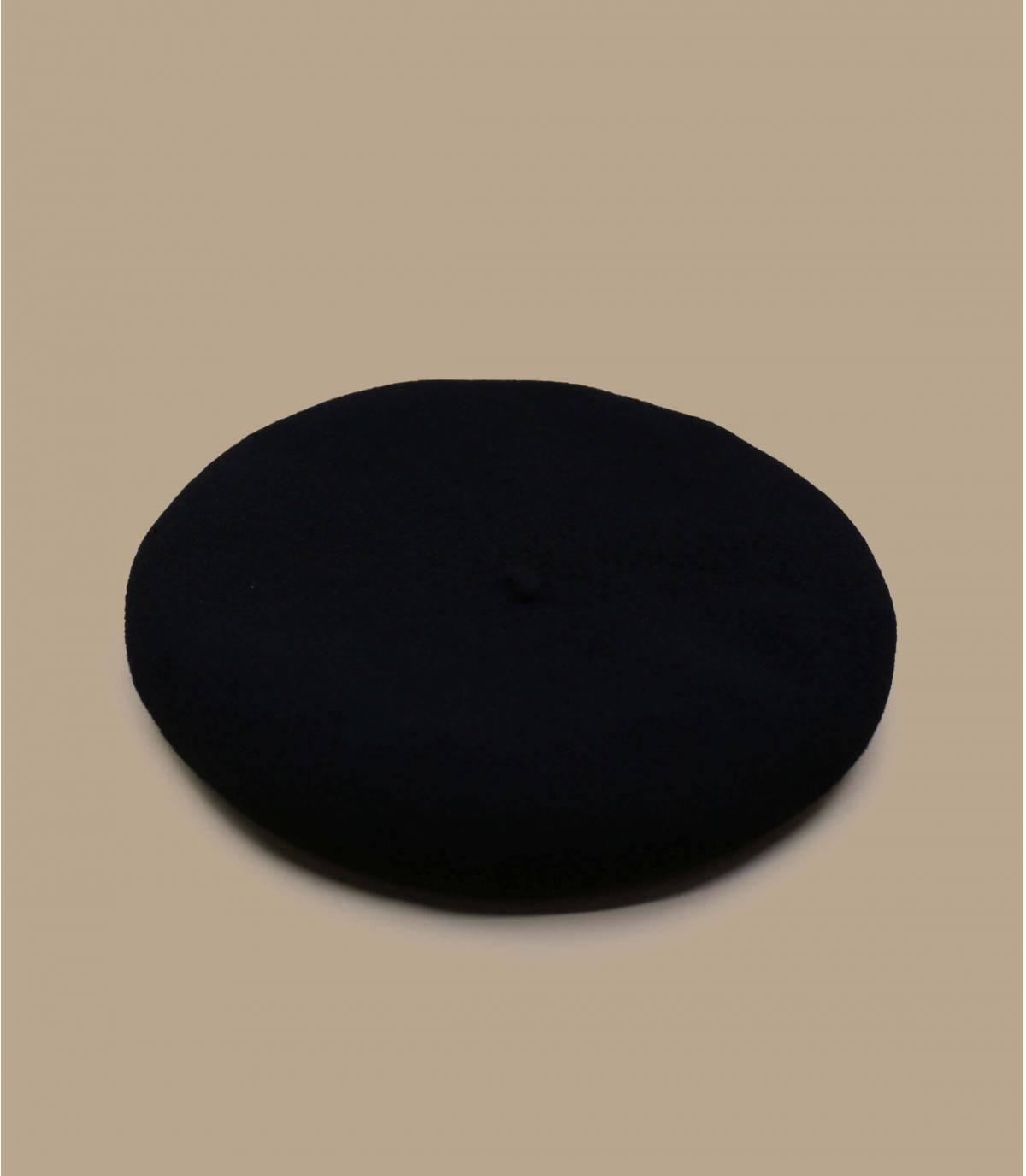 béret laine noire