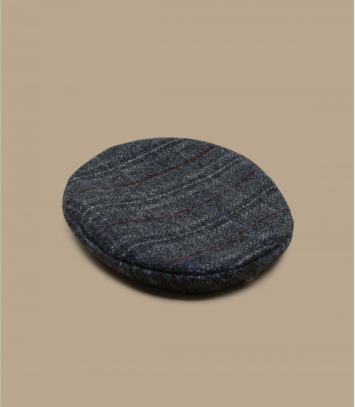 béret tweed gris