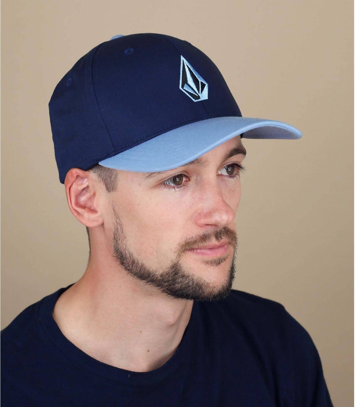 casquette Volcom bleu