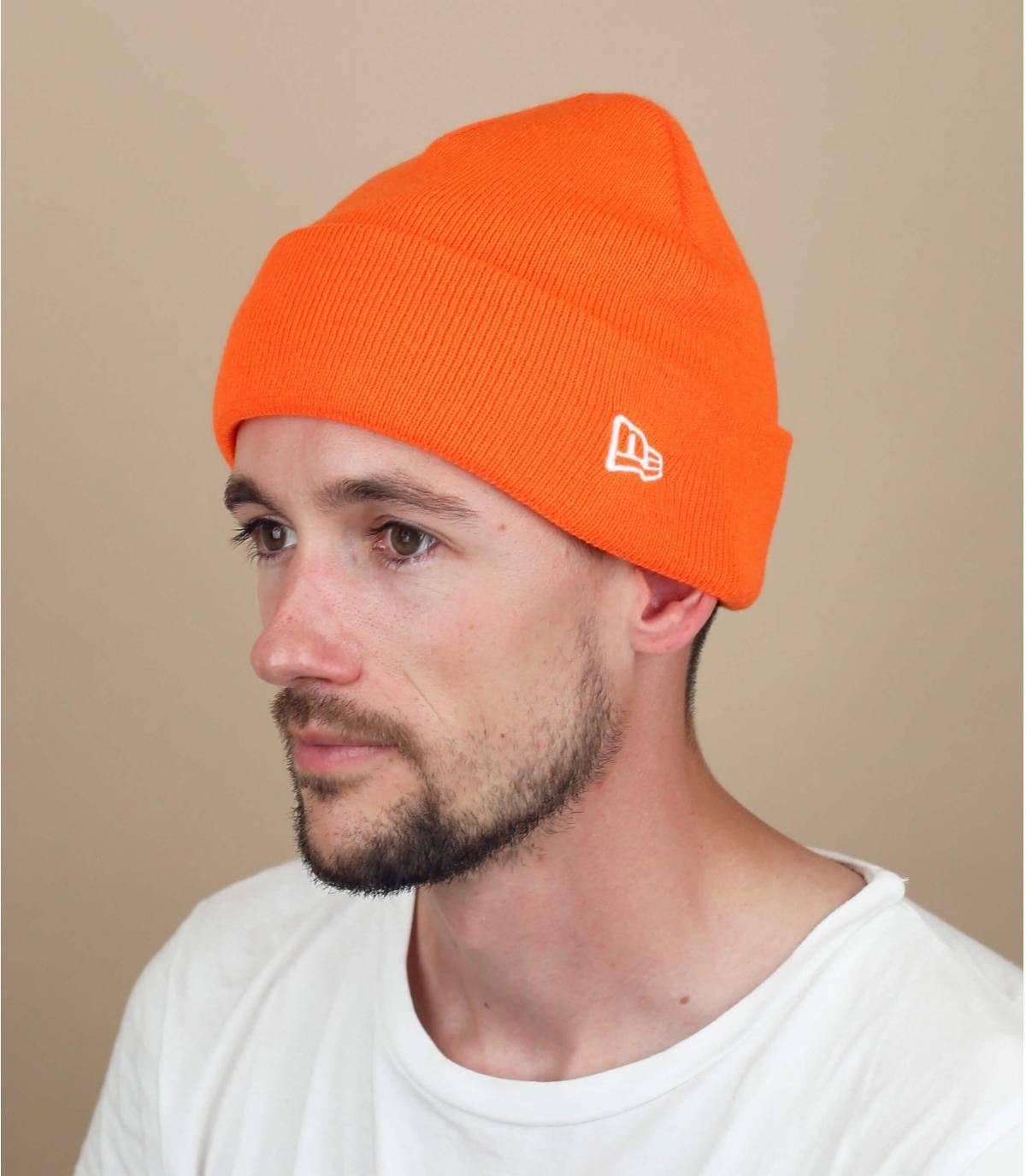 bonnet New Era orange