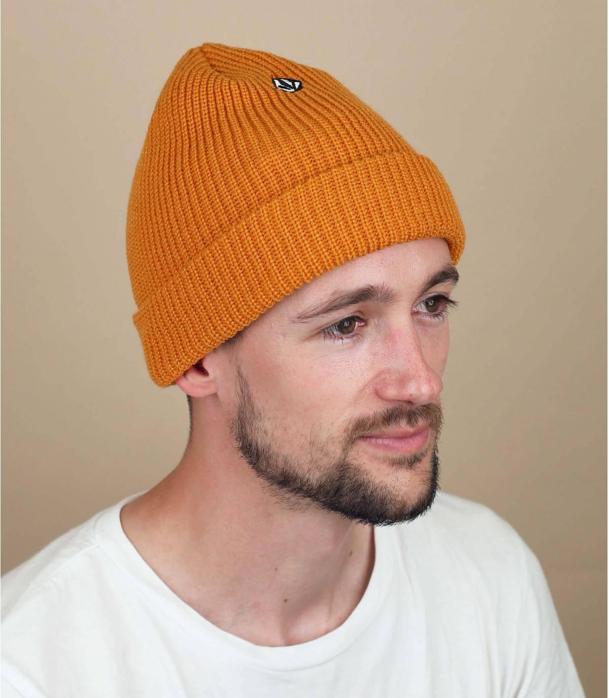 bonnet jaune Volcom