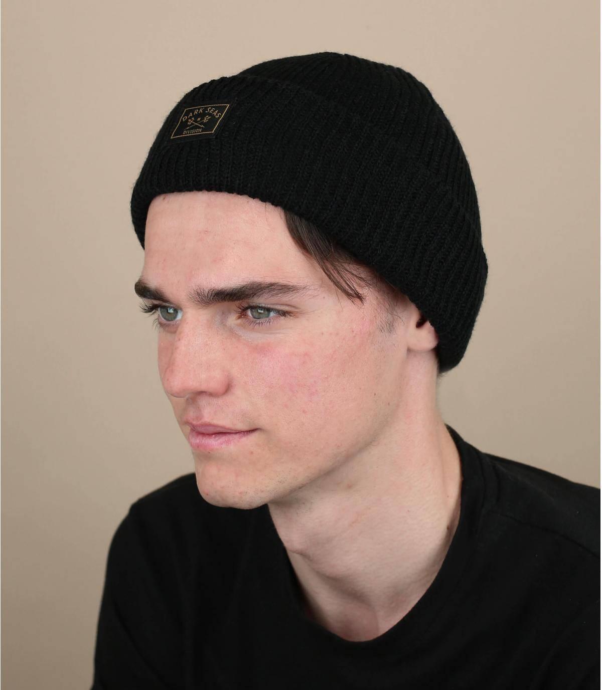 bonnet docker noir Dark Seas