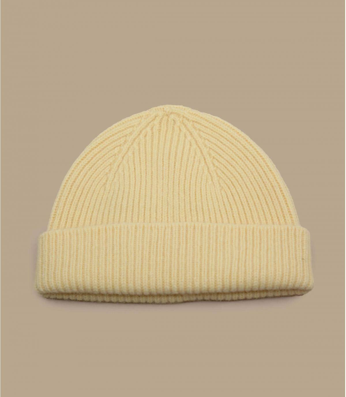 bonnet docker jaune