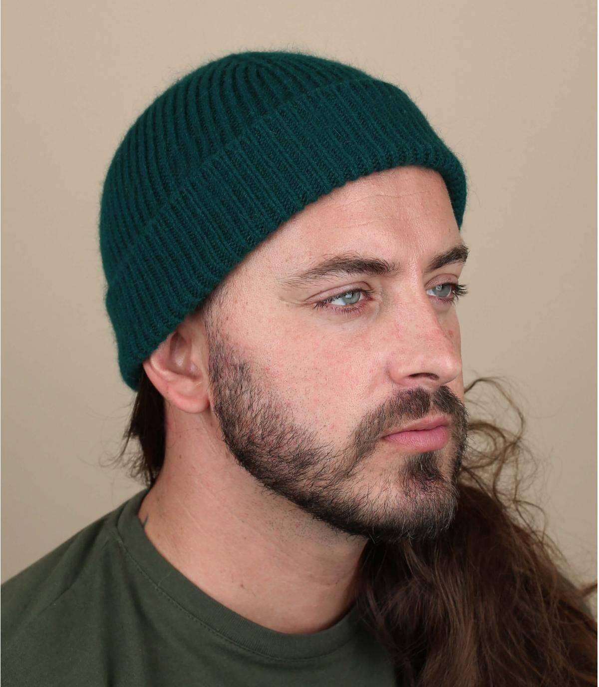 bonnet docker vert
