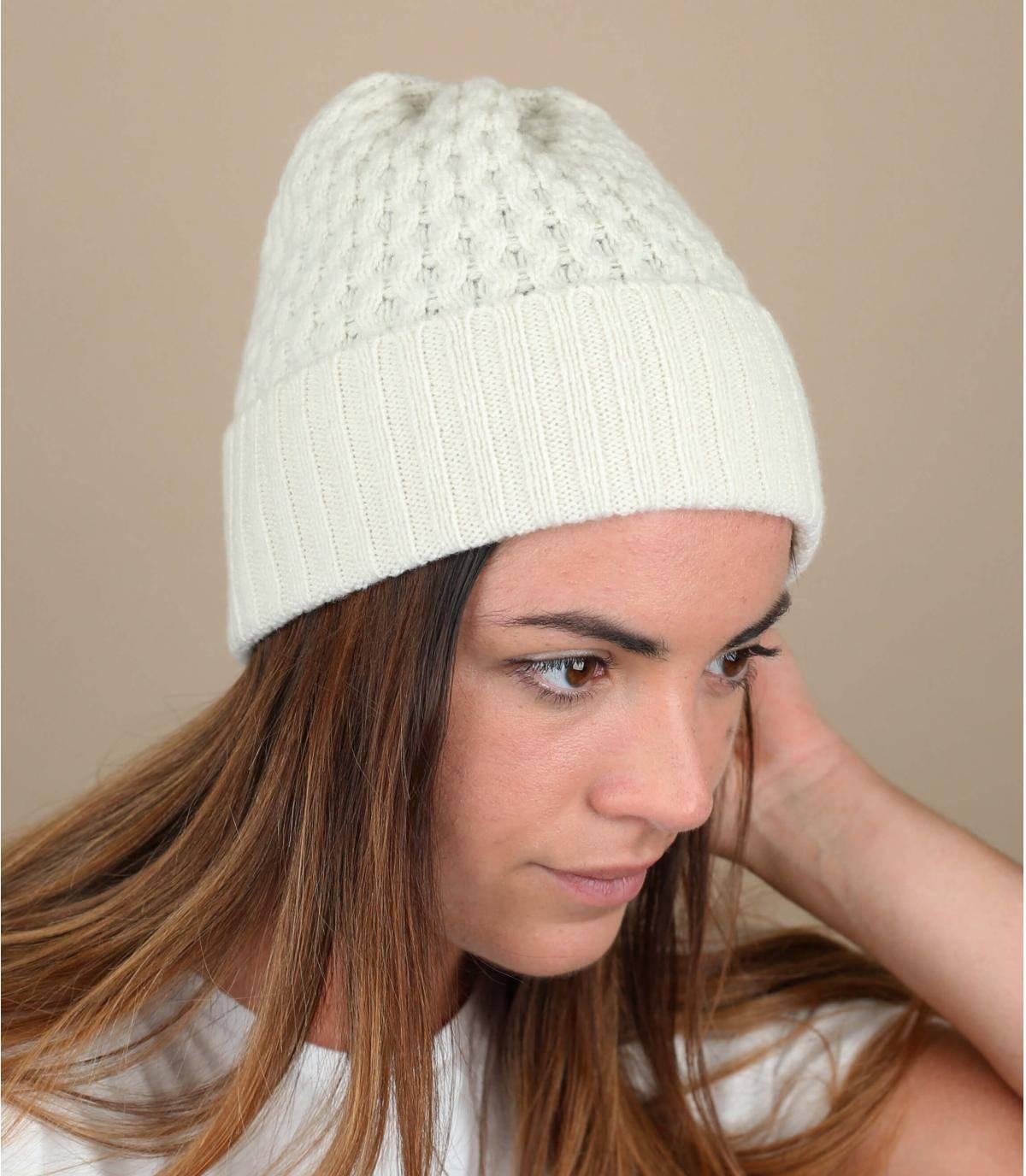 bonnet laine revers