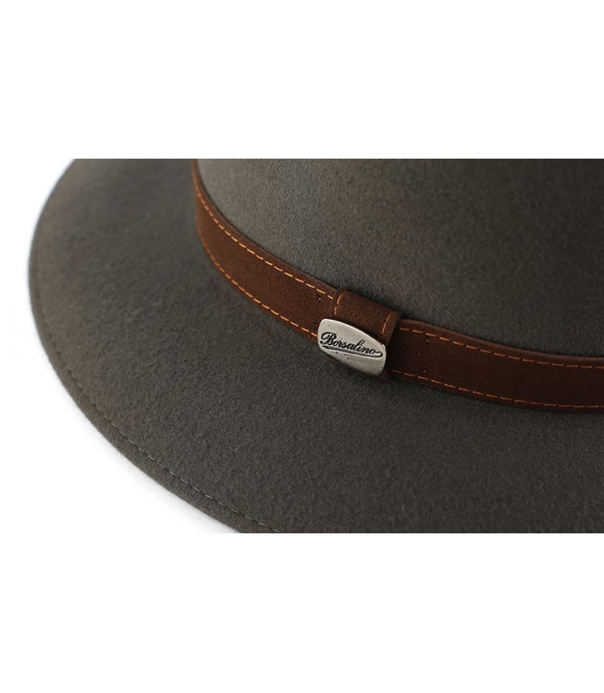 Chapeau Borsalino gris