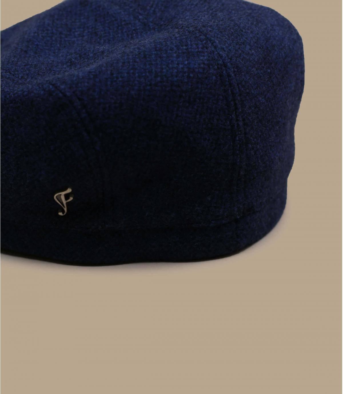 béret bleu laine