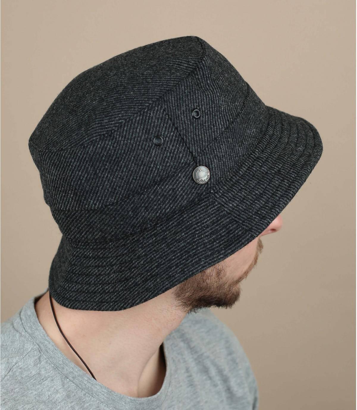 bob gris laine recyclée