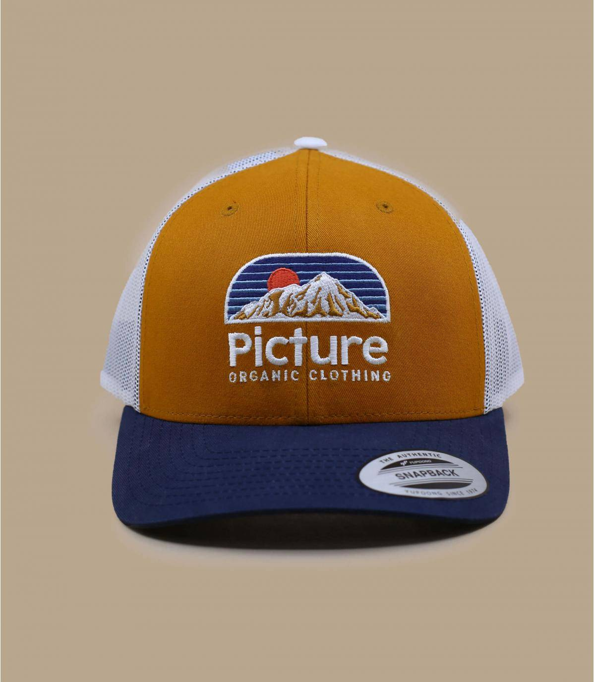 trucker Picture jaune bleu