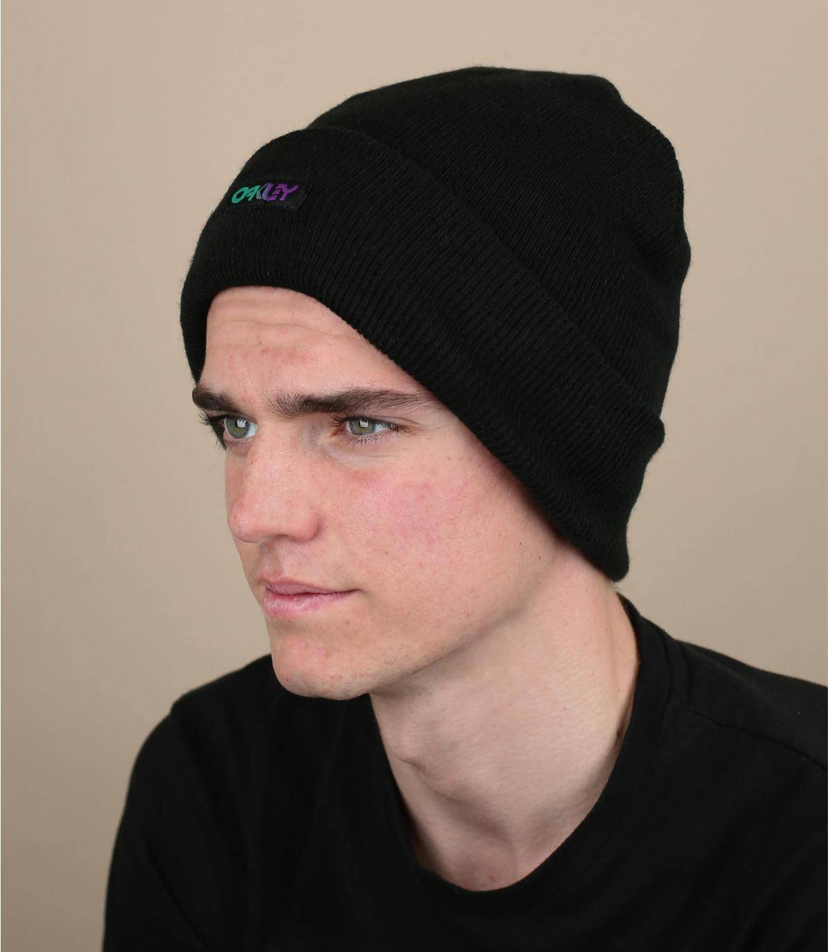 bonnet noir Oakley